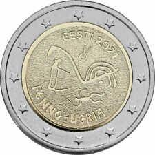 Estland 2021 2 euro - Fins-Oegrische Volkeren - UNC