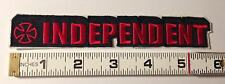 """INDEPENDENT TRUCK COMPANY STRIP PATCH - From 2009 - 5.5"""" wide"""