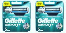 Gillette Mach3+ 5x2 ( 10 Recharges ) lames de rasoir