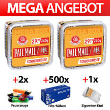 2x PALL MALL ALLROUND RED 230g MEGA BOX VOLUMEN TABAK EIMER