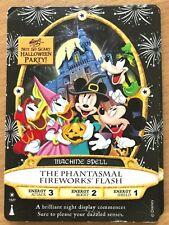 Sorcerers Of The Magic Kingdom 2019 Halloween Party Phantasmal Fireworks Flash