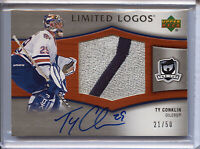 Upper Deck - The Cup Limited Logos - Ty Conklin 021/050