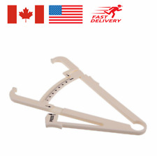 Body Fat Caliper Body Mass Measuring Tape Tester Fitness Weight Loss Health Slim
