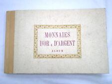 MONNAIES D'OR ET D'ARGENT ALBUM TARDY 1963
