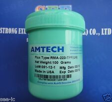 AMTECH Flux solder paste SMT BGA PCB IC RMA-223-TPF(UV) Original 100g