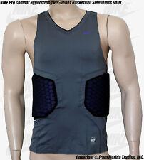 NIKE Pro Combat Hyperstrong Vis-Deflx Padded Basketball Sleeveless Shirt(XL)GryP