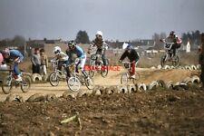 PHOTO  1984 SHOREHAM-BY-SEA SUSSEX BMX RACING VIEW 3