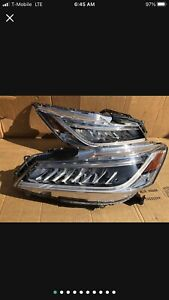 2016 2017 HONDA ACCORD TOURING SEDAN FACTORY OEM LED HEADLIGHT SET  W/ MODULE E2