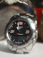 TISSOT T TOUCH EXPERT (T013420A) MENS SMART WATCH STAINLESS STEEL / VGC !