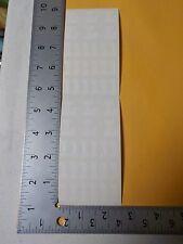 FRANCES MEYER WHITE ALPHABET LETTER L UPPER LOWER CASE STICKERS SCRAPBOOK A3023