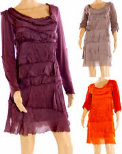 Vestiti da donna a manica lunga in misto cotone Clubwear