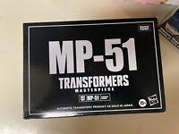 Transformers Masterpiece MP-51 Arcee Takara Tomy (HASBRO) In Stock