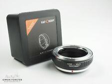 K&F Concept Konica AR to M43 Adapter AR to Micro Four Thirds MFT