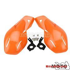 Orange Hand Guards Handguards Mount Kit  For KTM Pit Dirt Bike ATV MX Motocross