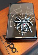 Zippo Spider with Skull/araña con calavera, Limited Edition xxxx/1000