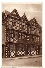 The Feathers Hotel - Ludlow Photo Postcard c1940's