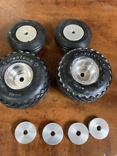 Vintage tether car parts NOS Champion wheels Original.