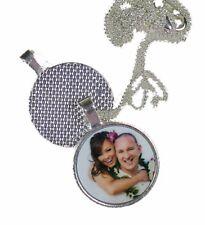 Collar Colgante Foto en Caja De Regalo