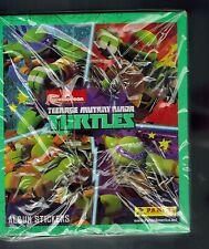 BOX 50 PACKS  TEENAGE MUTANT NINJA TURTLES CARTOON PANINI STICKERS NICKELODEON