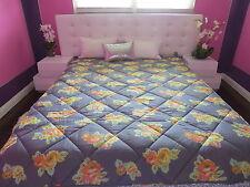 NEW VICTORIAS SECRET LOVE PINK FLOWER PRINT BED IN a BAG SET Comforter sheets:TW