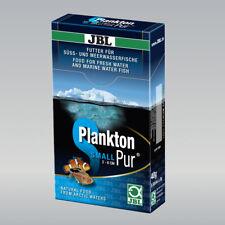 6 Boîtes JBL PlanktonPur s5, 48 x 5 g Sparpack, pour petits aquariums poissons