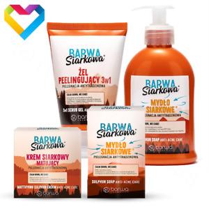 Barwa Sulphur Series For Acne Prone Skin Anti Acne - Barwa Seria Siarkowa Soap