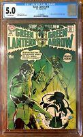Green Lantern #76 CGC 5.0 DC Neal Adams Begins! KEY BRONZE ISSUE! NEW CASE!!