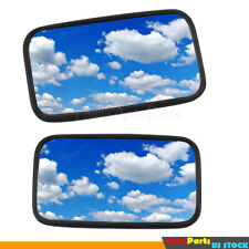 2x Universal Farm Tractor Mirror Large Size 7x12 For John Deere New Holland