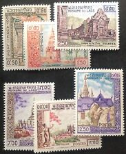 Laos 1959 monuments Set Of 6 Stamps mint