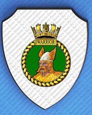 HMS WARRIOR WALL SHIELD