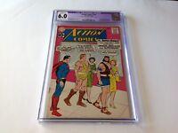 ACTION COMICS 279 CGC 6.0 SUPERGIRL ADOPTED LEX LUTHOR HERCULES SAMSON DC COMICS