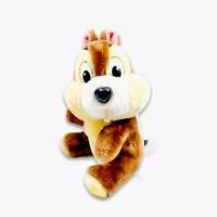 "Disney Parks Chip And Dale Chipmunk Chip Plush 10"" Disneyland Stuffed Animal Toy"