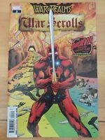 ⭐️ The War of the Realms WAR SCROLLS #2a (2019 MARVEL Comics) VF/NM