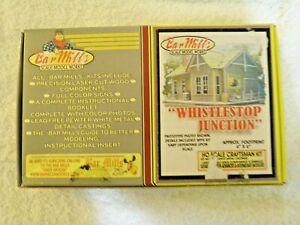 Whistlestop Junction by Bar Mills HO kit #0911