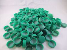 Lot of 150 Green Plastic Bottle Cps Lids Screw Top Arts & Crafts