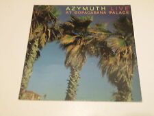 AZYMUTH - LIVE AT COPACABANA PALACE - LP 1985 SBA RECORDS MADE IN FRANCE -
