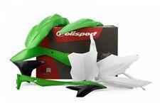 Polisport Motocross Kit Plastique Kawasaki KXF 450 16-17 OEM Vert Blanc 90689