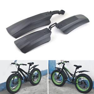 2Pcs Fahrrad Schutzblech Fahrrad vorne hinten Kotflügel Kotflügel MTB Radsp