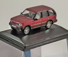 RANGE ROVER P38 in Rioja Red 1/76 scale model OXFORD DIECAST