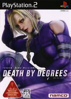 Used PS2 Death by Degrees Tekken: Nina Williams   Japan Import (Free Shipping)