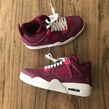 A1146G Air Jordan 4 Retro Pink Purple 487724-661 GS Youth Size 6.5Y NEW