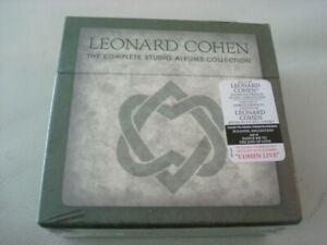 LEONARD COHEN New 12-CD BOX SET Complete Studio Albums Collection Bonus LIVE CD