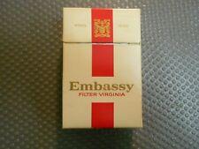 Embassy alte Zigarettenschachtel (319)