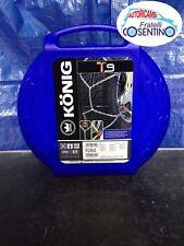Catene da neve Konig Thule T9 050 9mm per pneumatici R13 R14 R15
