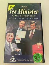 VHS: YES MINISTER- OPEN GOVERNMENT