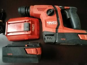 Hilti TE 6-A36 AVR Cordless Rotary Hammer  Drill with 2 Batteries and charger