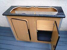 Camper Van Kitchen Pod Motorhome Furniture Unit Built to Order cupboard