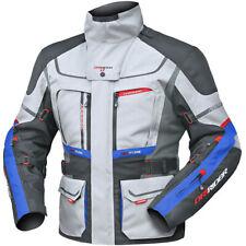 DriRider MX Vortex Adventure 2 Grey/Anthracite/Blue Adventure Jacket L