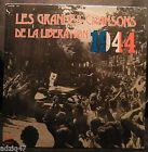 ♫ 33 T VINYL - LES GRANDES CHANSONS DE LA LIBÉRATION 1944 ♫