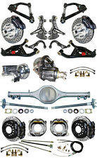 """NEW 2"""" DROP SUSPENSION & WILWOOD BRAKE SET,CURRIE REAR END,ARMS,POSI GEAR,676973"""
